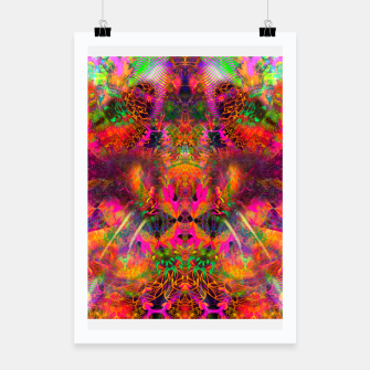 Thumbnail image of The Jester's Mindscape II (abstract, symmetry, visionary) Poster, Live Heroes