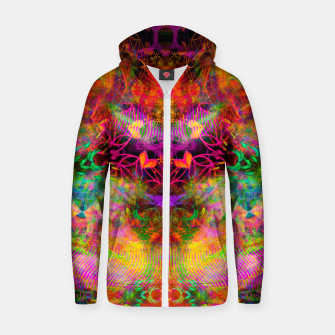 Thumbnail image of The Jester's Mindscape III Zip up hoodie, Live Heroes