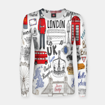Thumbnail image of England Women sweater, Live Heroes