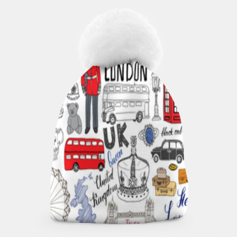 Thumbnail image of England Beanie, Live Heroes