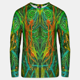 Thumbnail image of Dark Visions B 2 (abstract, psychedelic) Unisex sweater, Live Heroes