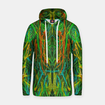 Thumbnail image of Dark Visions B 2 (abstract, psychedelic) Hoodie, Live Heroes