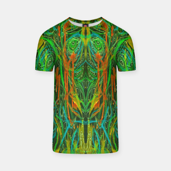 Thumbnail image of Dark Visions B 2 (abstract, psychedelic) T-shirt, Live Heroes