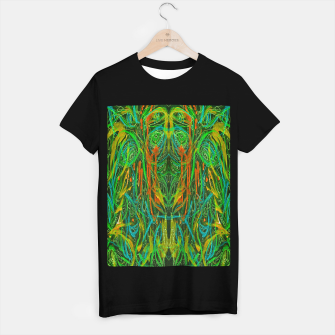 Miniaturka Dark Visions B 2 (abstract, psychedelic) T-shirt regular, Live Heroes
