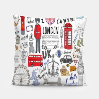 Thumbnail image of England Pillow, Live Heroes