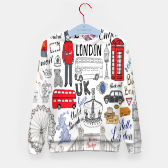 Thumbnail image of England Kid's sweater, Live Heroes