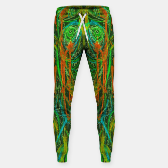 Thumbnail image of Dark Visions B 2 (abstract, psychedelic) Sweatpants, Live Heroes