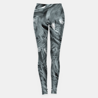 Miniaturka abstract shades grey  Legginsy, Live Heroes