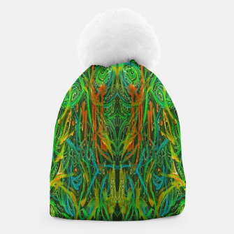 Thumbnail image of Dark Visions B 2 (abstract, psychedelic) Beanie, Live Heroes