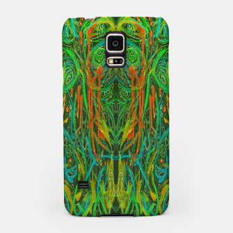 Thumbnail image of Dark Visions B 2 (abstract, psychedelic) Samsung Case, Live Heroes