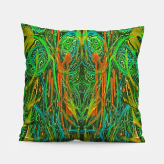 Miniatur Dark Visions B 2 (abstract, psychedelic) Pillow, Live Heroes