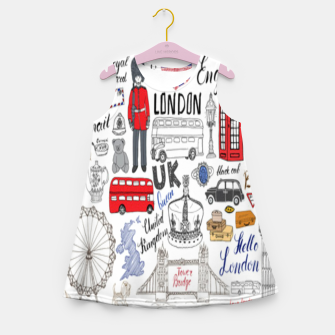 Thumbnail image of England Girl's summer dress, Live Heroes