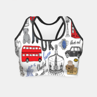 Thumbnail image of England Crop Top, Live Heroes