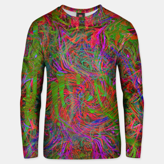 Thumbnail image of Dark Visions B 3 (abstract, psychedelic) Unisex sweater, Live Heroes