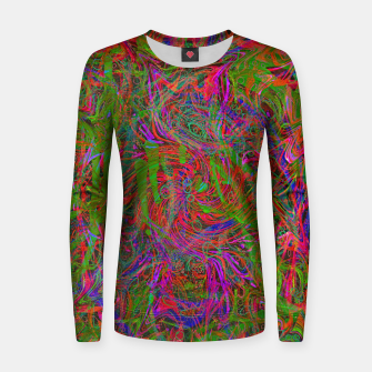 Thumbnail image of Dark Visions B 3 (abstract, psychedelic) Women sweater, Live Heroes