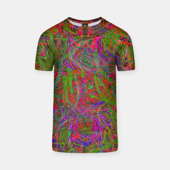 Thumbnail image of Dark Visions B 3 (abstract, psychedelic) T-shirt, Live Heroes