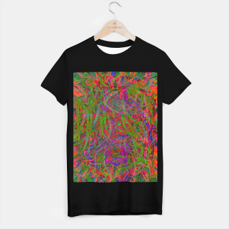 Miniaturka Dark Visions B 3 (abstract, psychedelic) T-shirt regular, Live Heroes