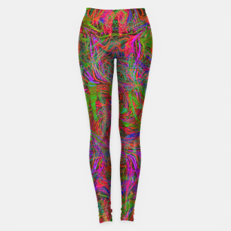 Miniaturka Dark Visions B 3 (abstract, psychedelic) Leggings, Live Heroes
