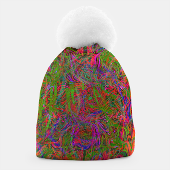 Thumbnail image of Dark Visions B 3 (abstract, psychedelic) Beanie, Live Heroes