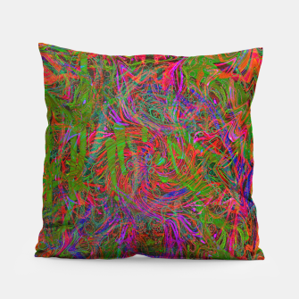Thumbnail image of Dark Visions B 3 (abstract, psychedelic) Pillow, Live Heroes