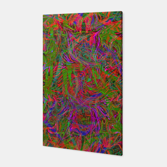 Thumbnail image of Dark Visions B 3 (abstract, psychedelic) Canvas, Live Heroes