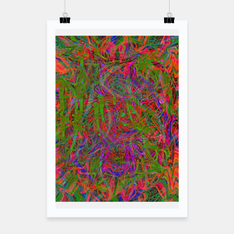 Thumbnail image of Dark Visions B 3 (abstract, psychedelic) Poster, Live Heroes
