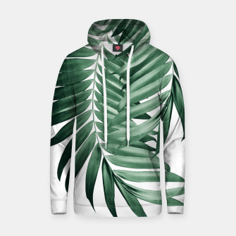 Thumbnail image of Palm Leaves Tropical Green Vibes #4 #tropical #decor #art Kapuzenpullover, Live Heroes