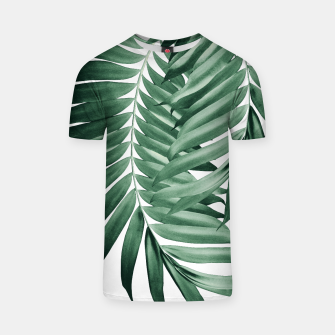 Imagen en miniatura de Palm Leaves Tropical Green Vibes #4 #tropical #decor #art T-Shirt, Live Heroes