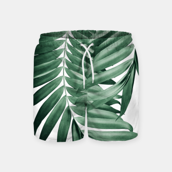 Imagen en miniatura de Palm Leaves Tropical Green Vibes #4 #tropical #decor #art Badeshorts, Live Heroes