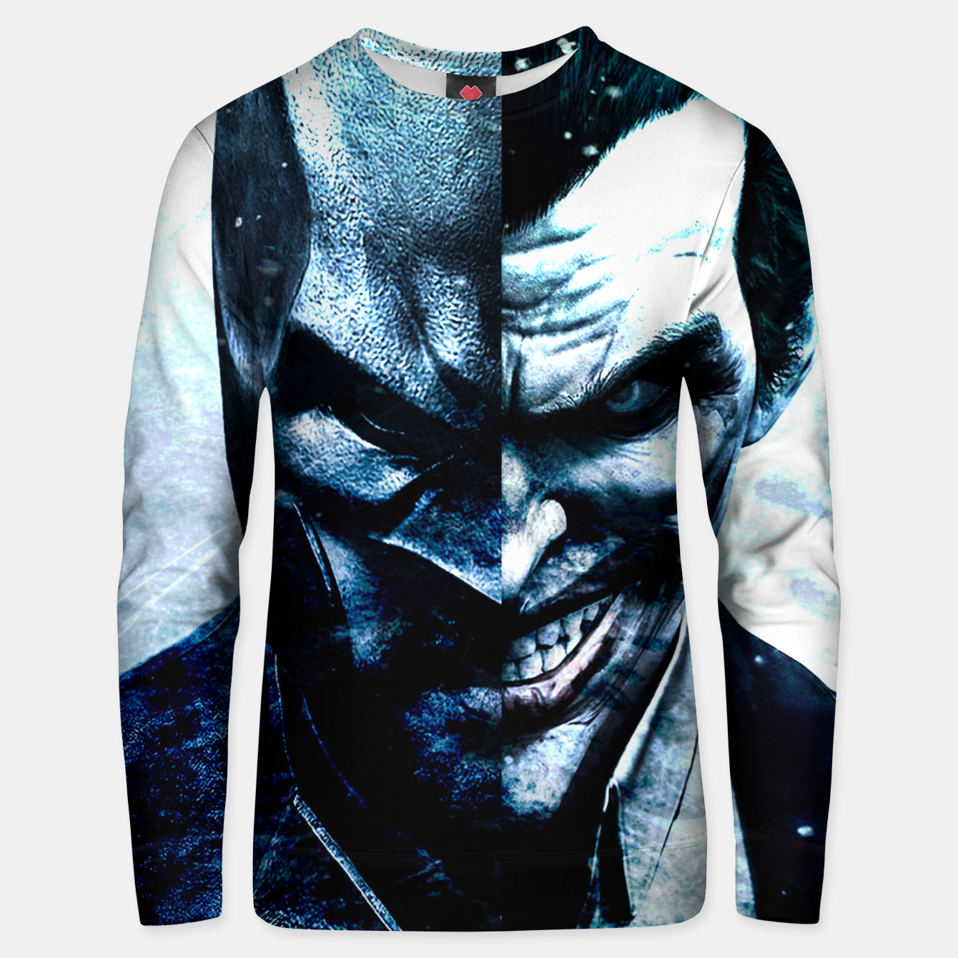 Foto Two Faces Unisex sweater - Live Heroes
