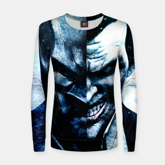 Miniature de image de Two Faces Women sweater, Live Heroes