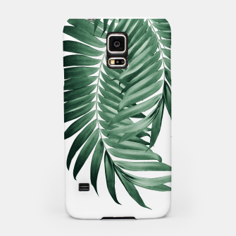Imagen en miniatura de Palm Leaves Tropical Green Vibes #4 #tropical #decor #art Handyhülle für Samsung, Live Heroes