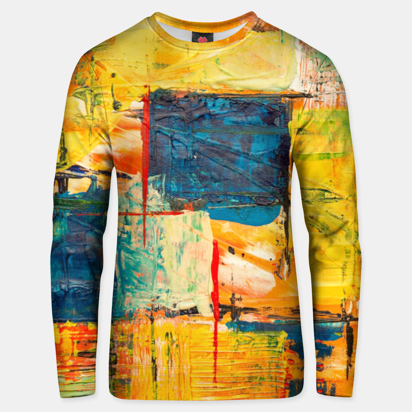 Foto Painting1 Unisex sweater - Live Heroes