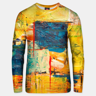 Thumbnail image of Painting1 Unisex sweater, Live Heroes
