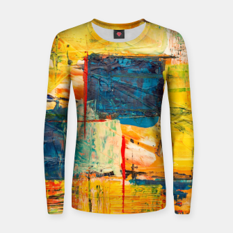 Miniature de image de Painting1 Women sweater, Live Heroes