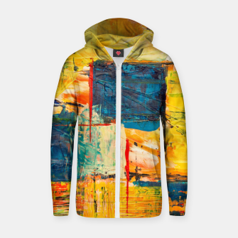 Miniature de image de Painting1 Zip up hoodie, Live Heroes