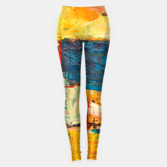 Miniatur Painting1 Leggings, Live Heroes