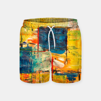 Painting1 Swim Shorts miniature