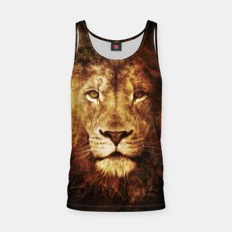 Thumbnail image of Fire Lion Tank Top, Live Heroes