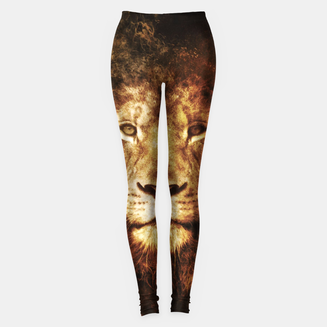 Foto Fire Lion Leggings - Live Heroes