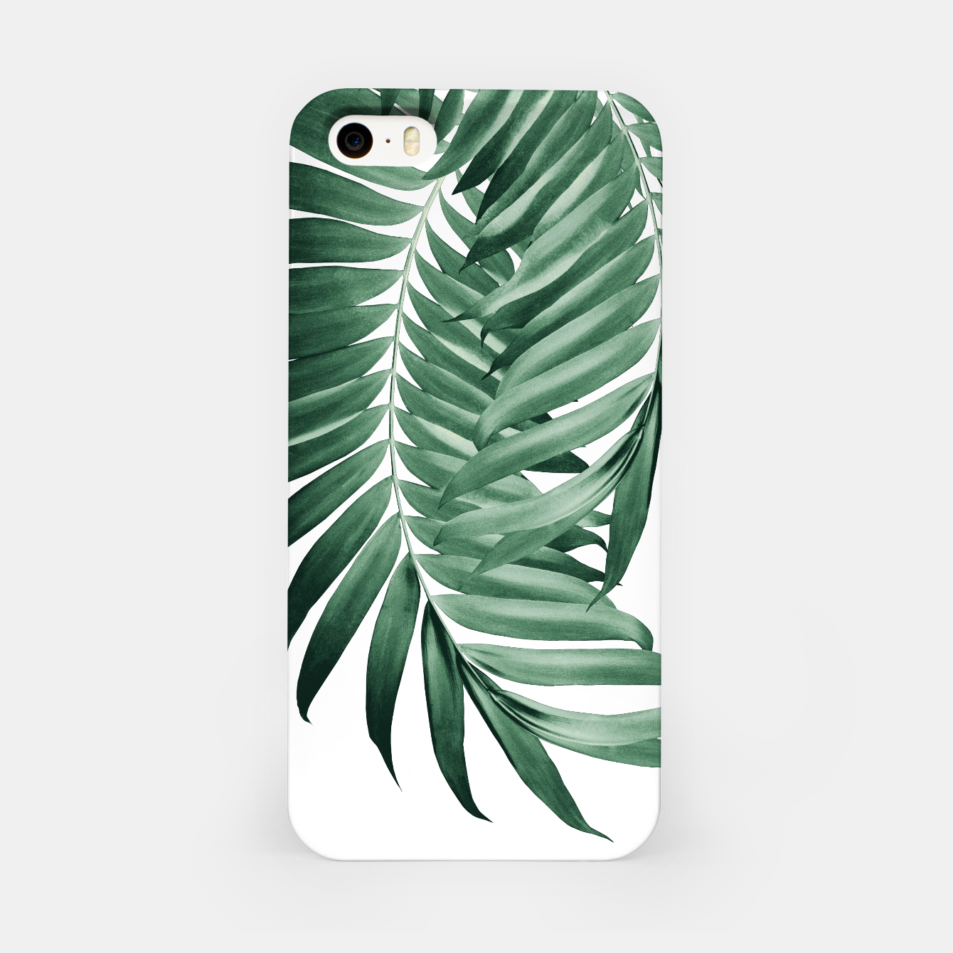 Zdjęcie Palm Leaves Tropical Green Vibes #4 #tropical #decor #art iPhone-Hülle - Live Heroes