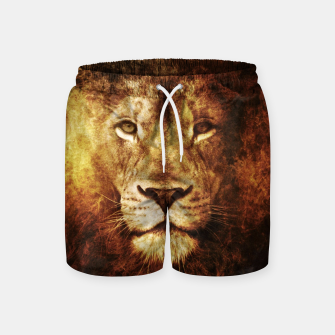 Miniatur Fire Lion Swim Shorts, Live Heroes