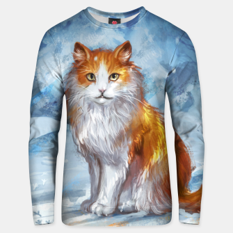 Miniature de image de Painted Cat Unisex sweater, Live Heroes