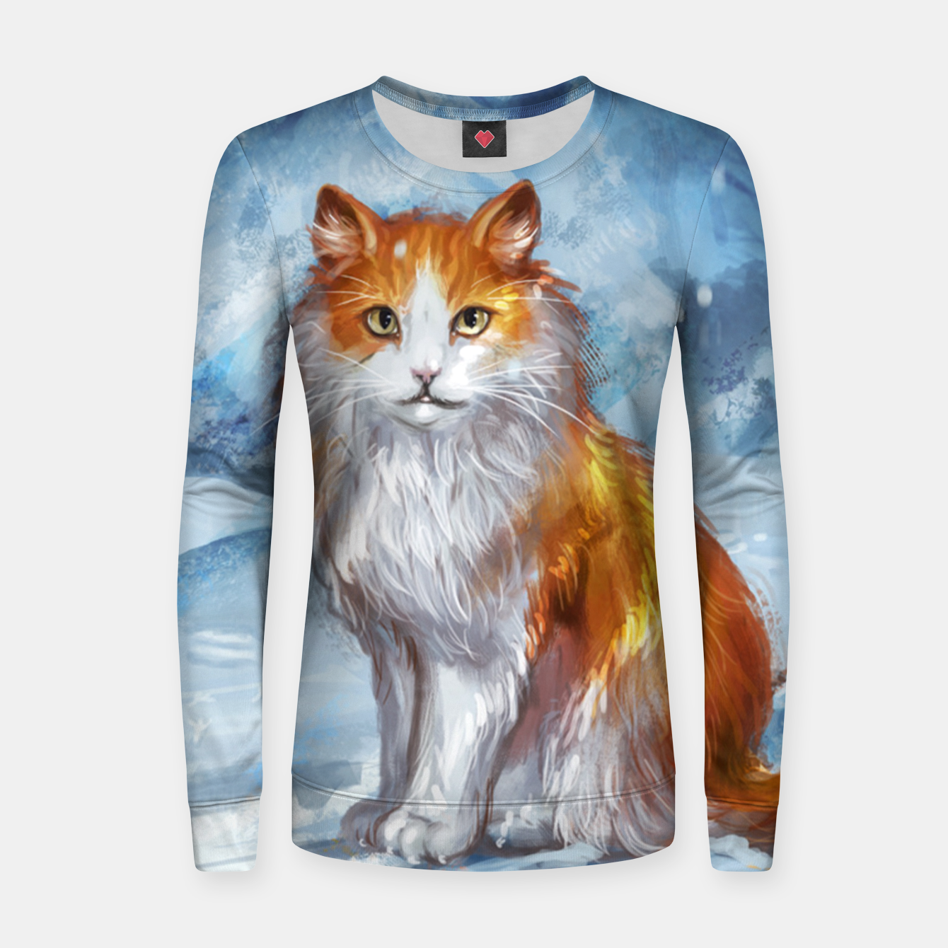 Foto Painted Cat Women sweater - Live Heroes