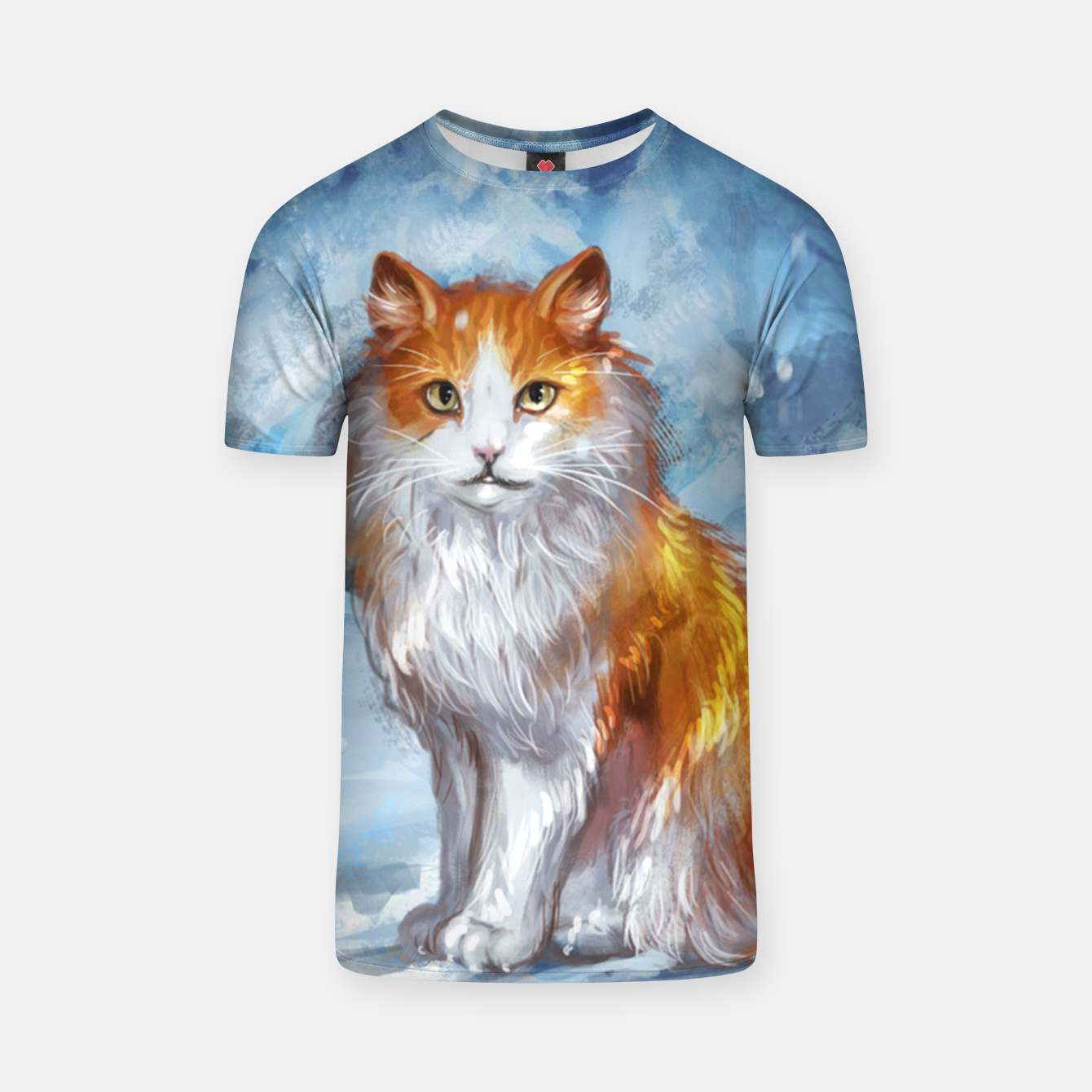 Image de Painted Cat T-shirt - Live Heroes