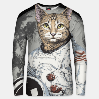 Thumbnail image of Catstronaut Unisex sweater, Live Heroes