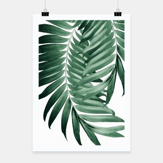 Thumbnail image of Palm Leaves Tropical Green Vibes #4 #tropical #decor #art Plakat, Live Heroes