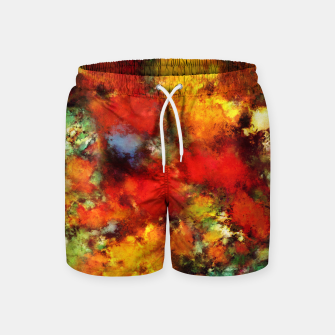 Thumbnail image of Combustible Swim Shorts, Live Heroes