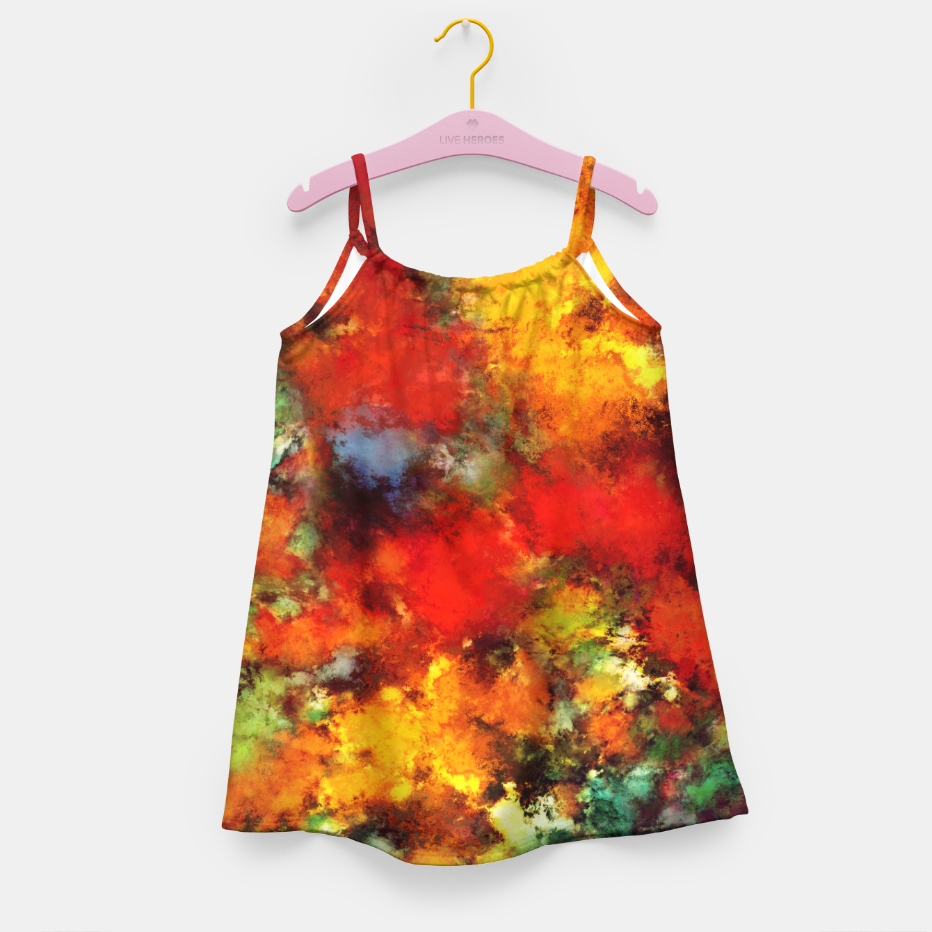 Image of Combustible Girl's dress - Live Heroes