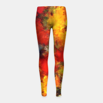 Thumbnail image of Combustible Girl's leggings, Live Heroes